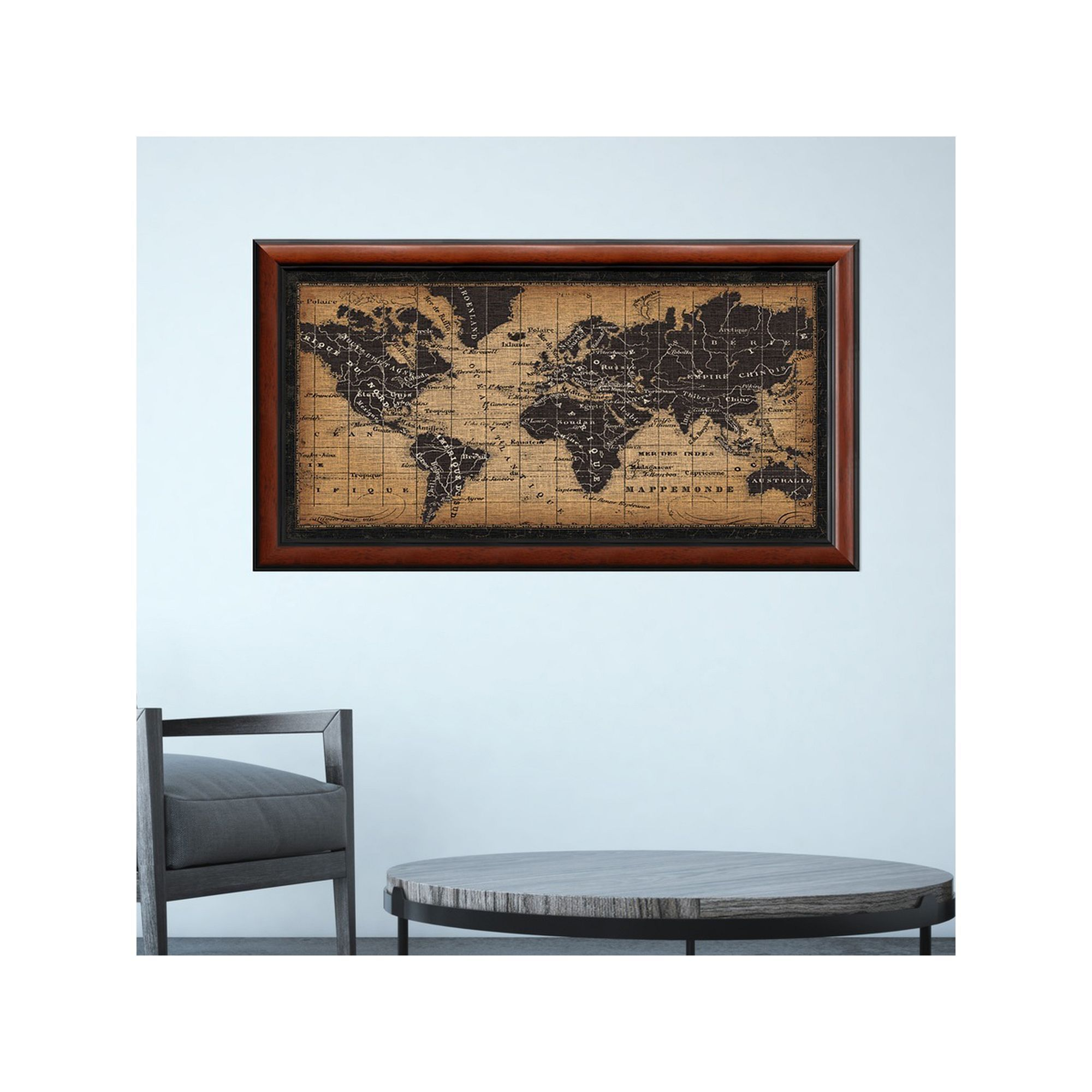 Amanti art old world map framed wall art multicolor world amanti art old world map framed wall art multicolor gumiabroncs Gallery