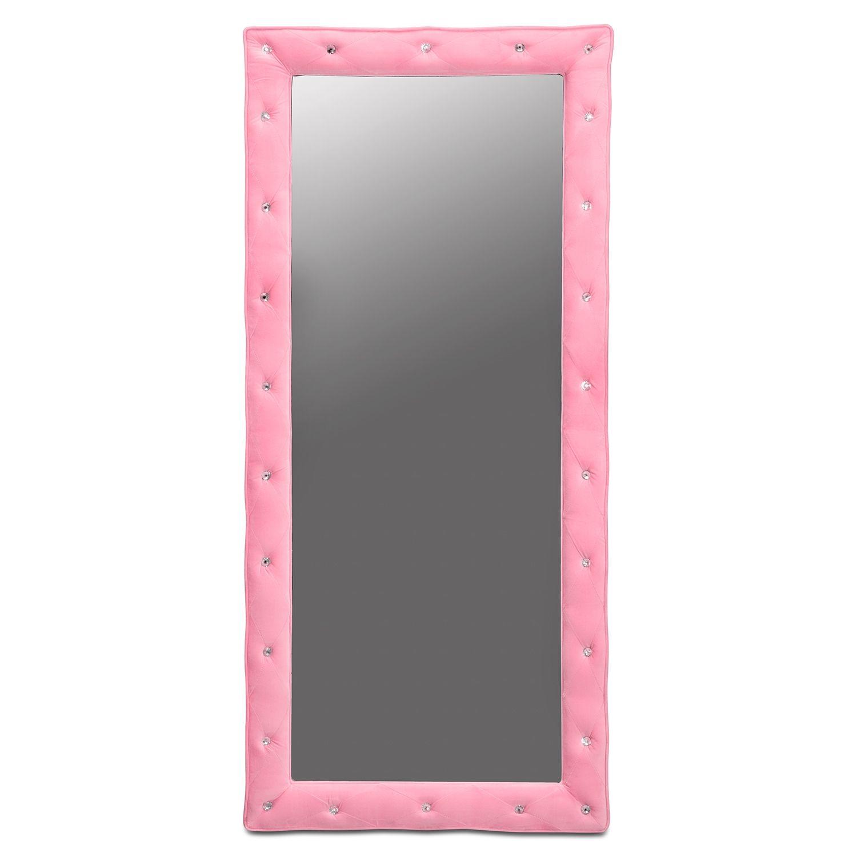 Kids Furniture Layla Pink Floor Mirror