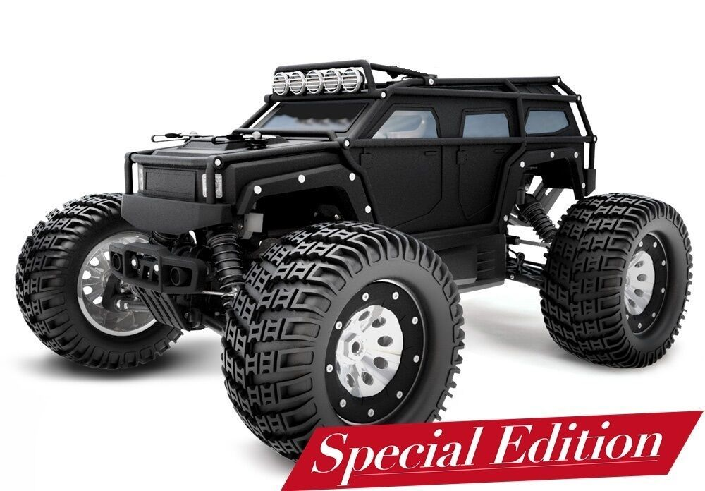 Thunder Tiger Rc Monster Truck K Rock Mt4 G5 Brushless Black No