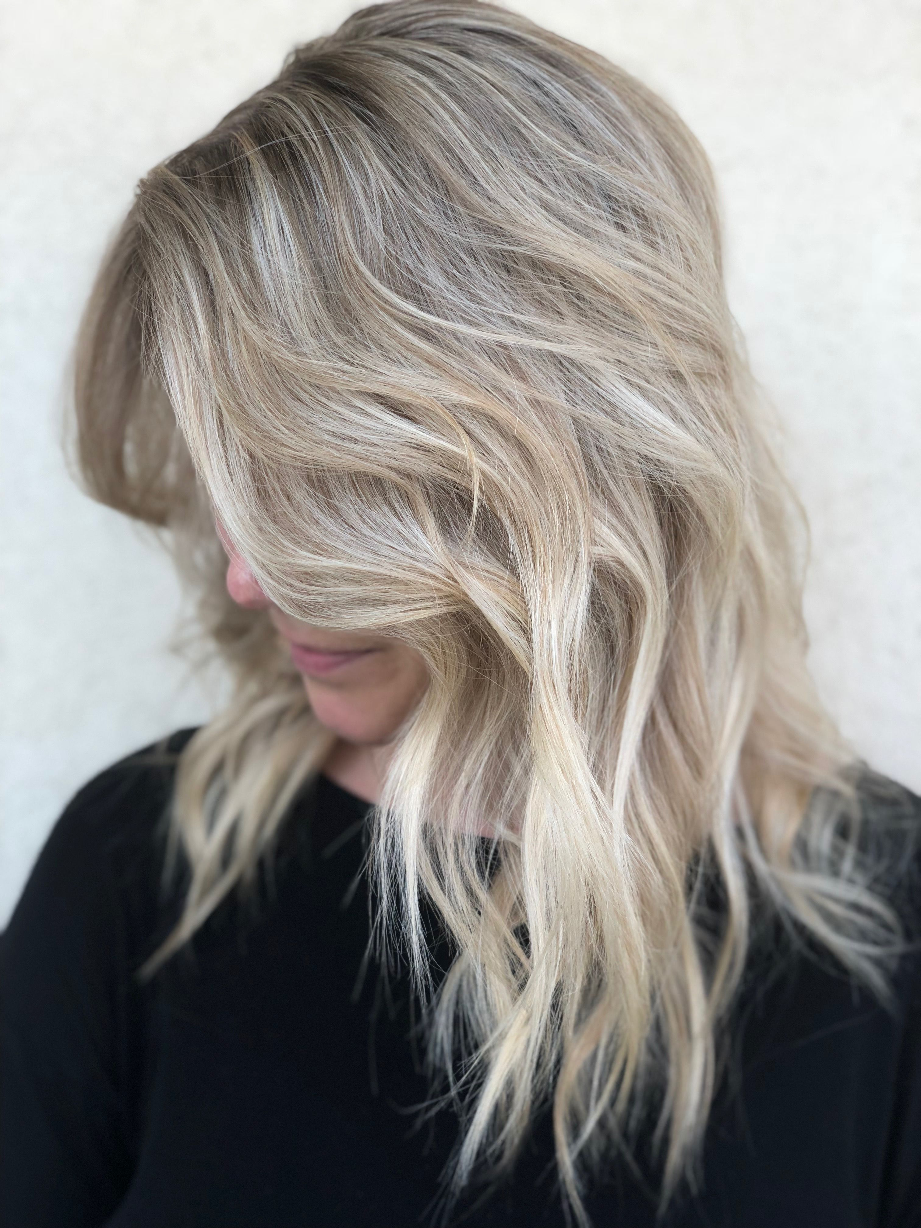 Blonde Icy Frost Long Hair Styles Hair Styles Beauty