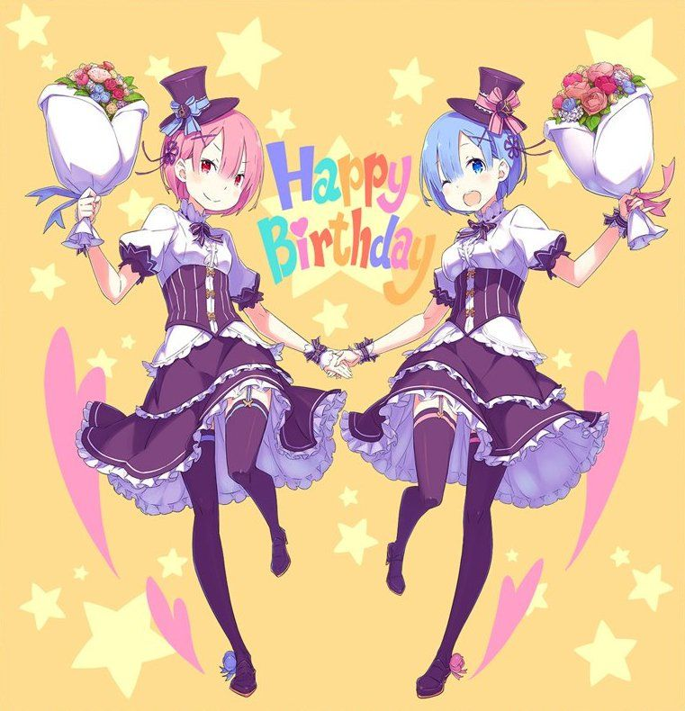 Visual for Re:Zero's Rem and Ram 2019 Birthday Event : anime
