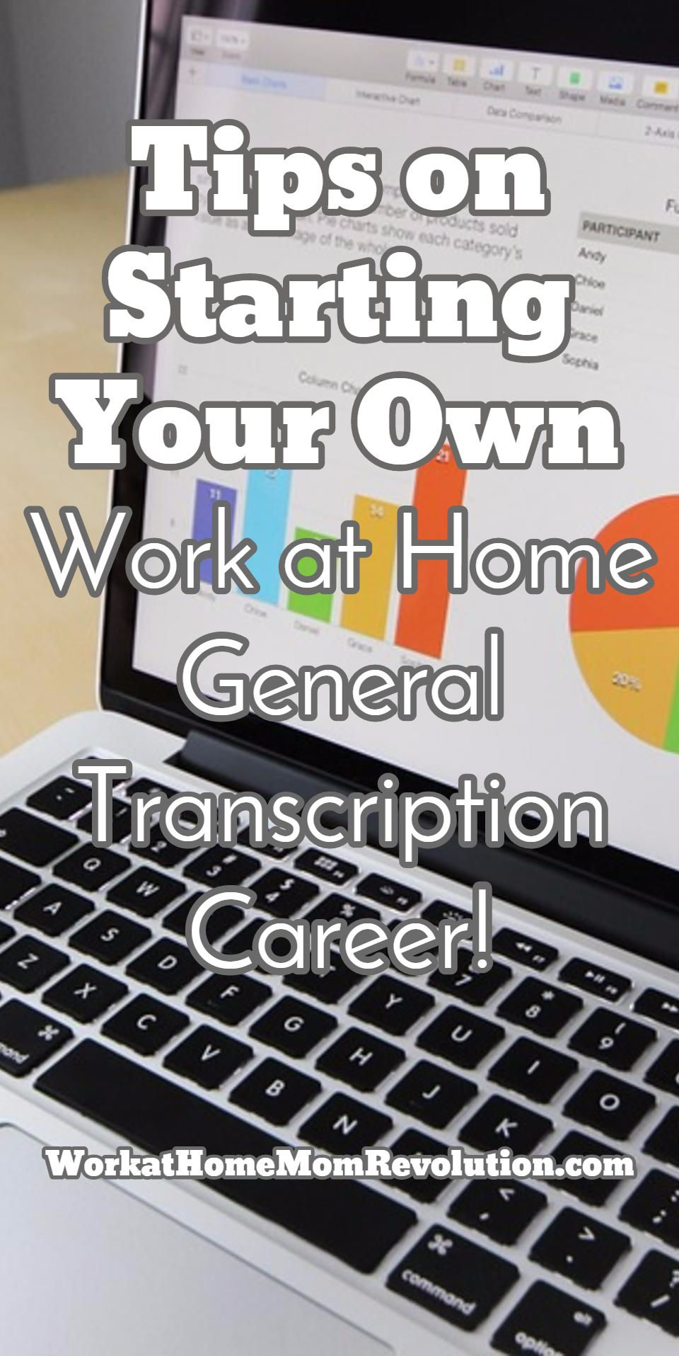 Work At Home Transcription Tips On Getting Started Working From Home Work From Home Jobs Transcription