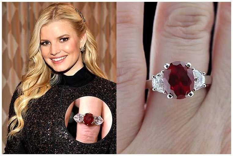 Delightful Jessica Simpson Wedding Ring, Is It Beautiful?  For Those Who Do Not Know