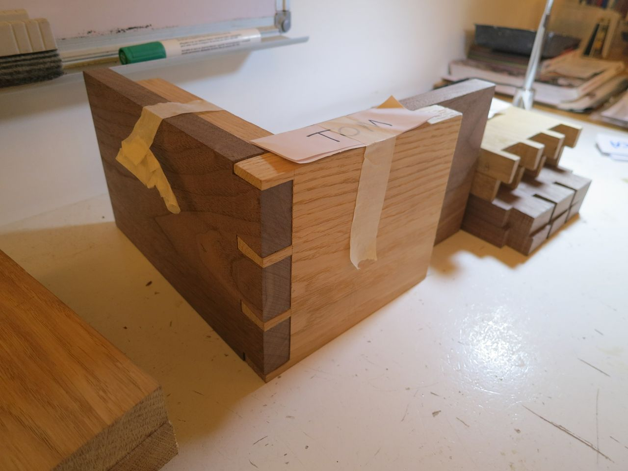 confident beginners - box & bookends | woodwork and