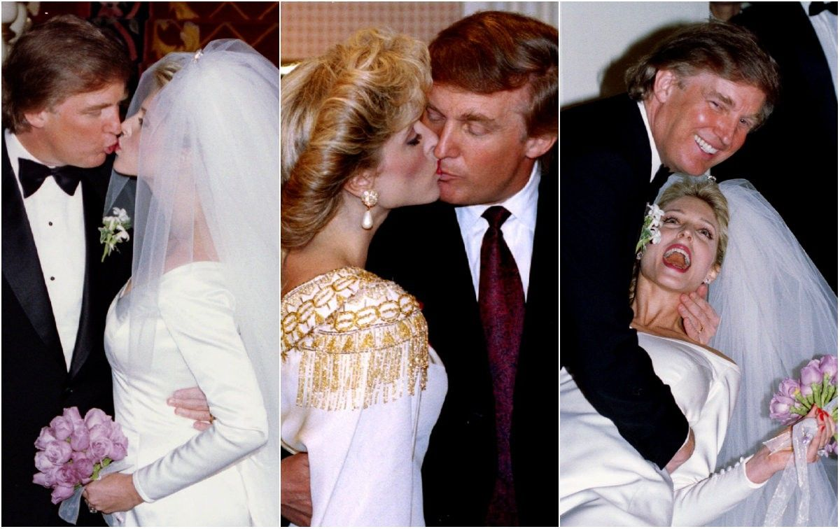image result for donald trump daughter wedding donald