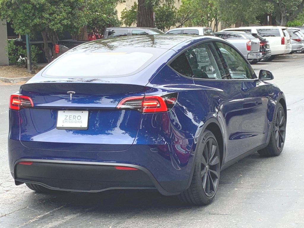 Tesla Model Y Spotted In The Wild Being Followed By A Model S