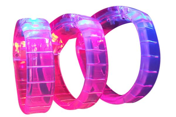 Gel Light Wristbands Price Includes 1 Color 1 Position Print 2 Color Imprint Available For An Additional Charge Pro Custom Wristbands Custom Print Custom