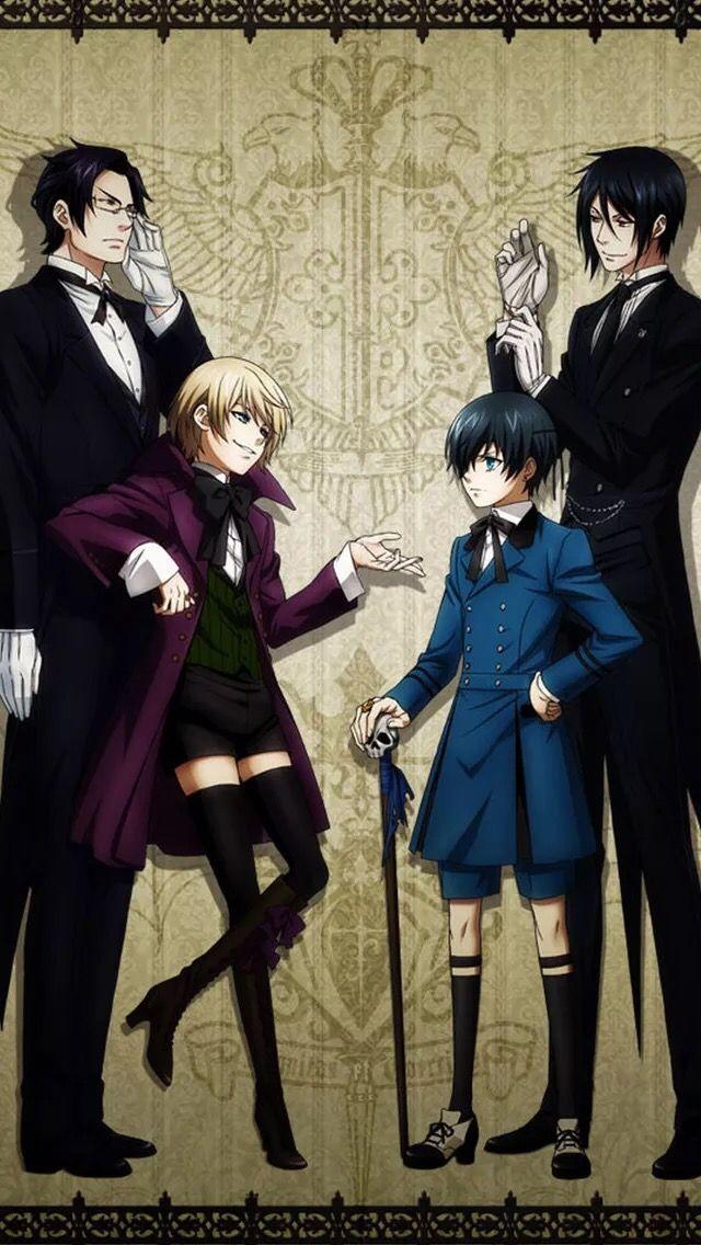 Ghim trên Black Butler Kuroshitsuji ♤ Anime