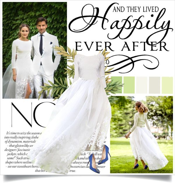 Olivia Palermo S Wedding By Nora Nazeer On Polyvore Olivia Palermo Wedding Bridal Gown Trends Olivia Palermo Wedding Dress
