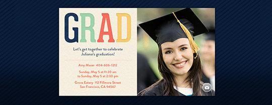 grad invitation party planning pinterest invitations featured