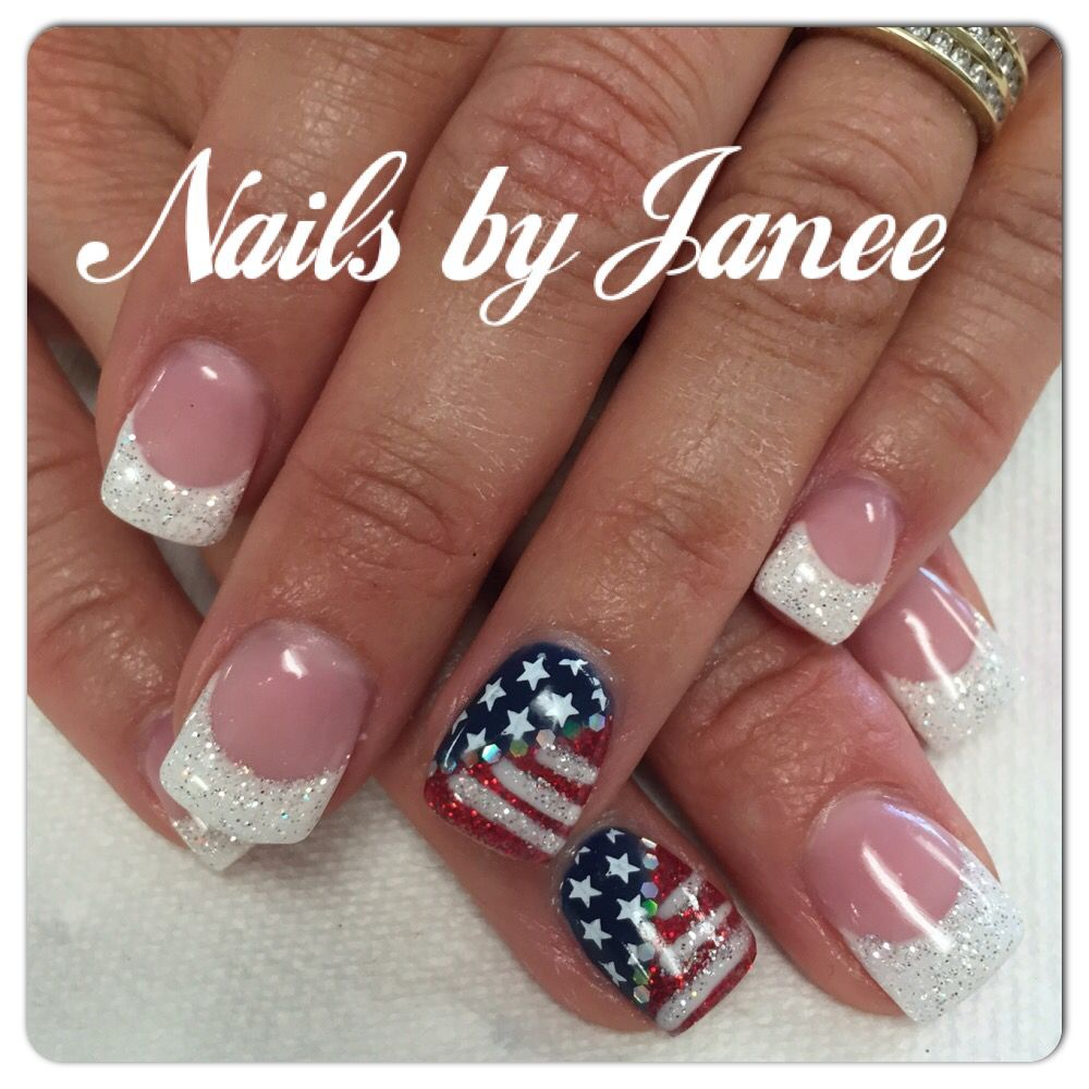 4th of July Nails by Janee @awildhairsalonreno | Nails by Janee at A ...