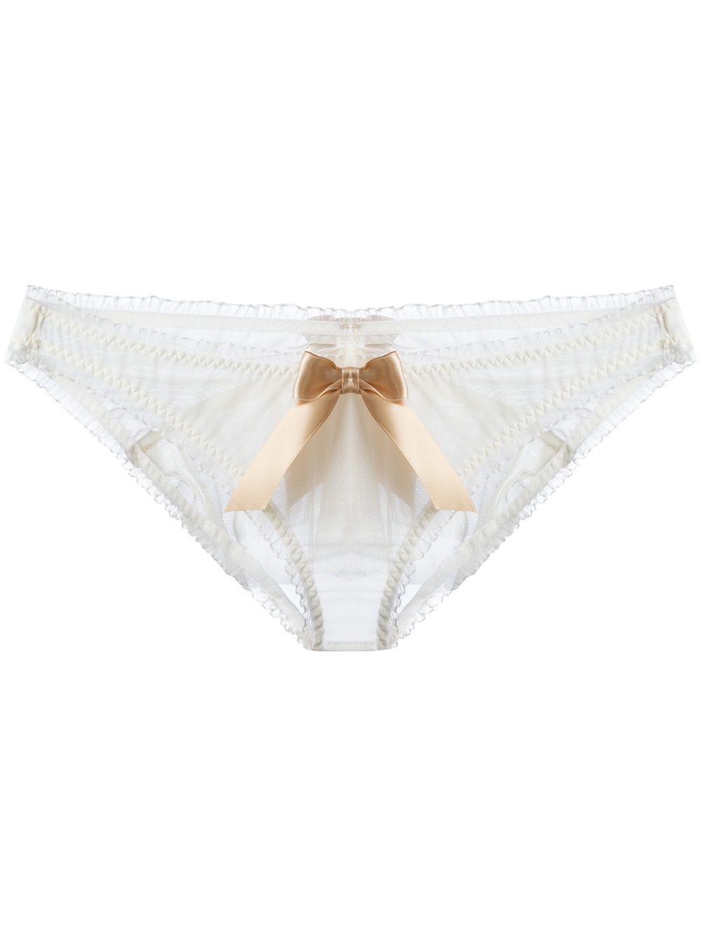 Undergarments for open back wedding dress  Lascivious ukittyu Brief  Dolci Follie  Farfetch