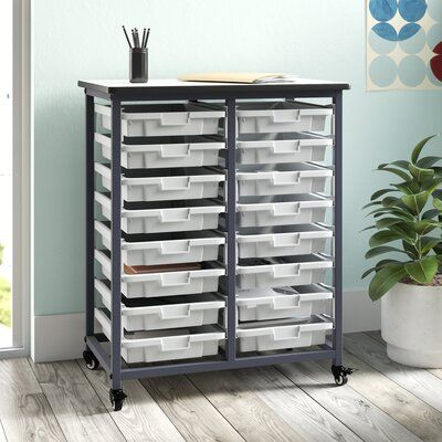 Luxor 16 Drawer Storage Chest | Wayfair