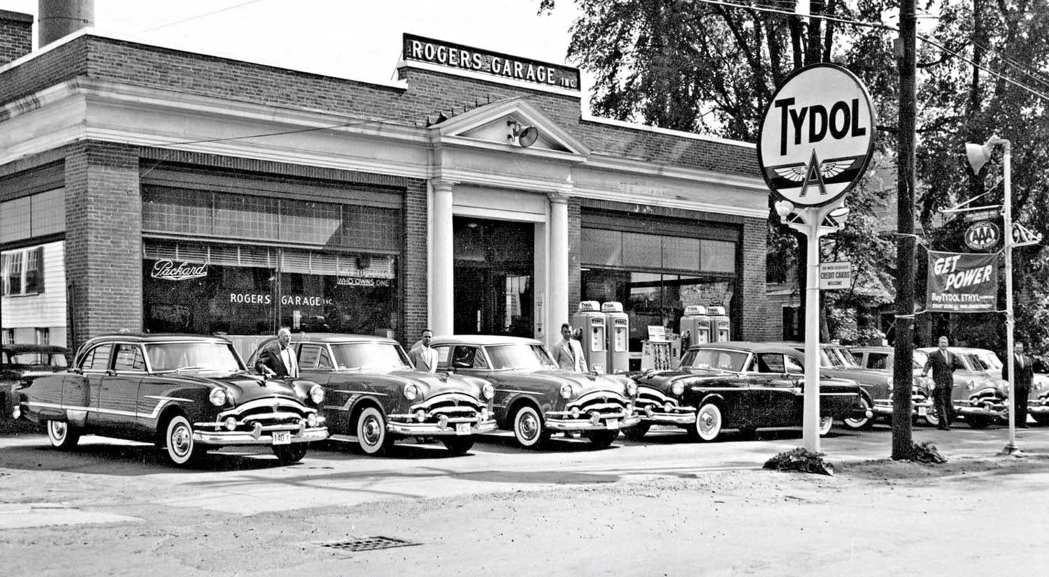 Rogers Garage: Packard Sales and Service Hanover, New Hampshire ...