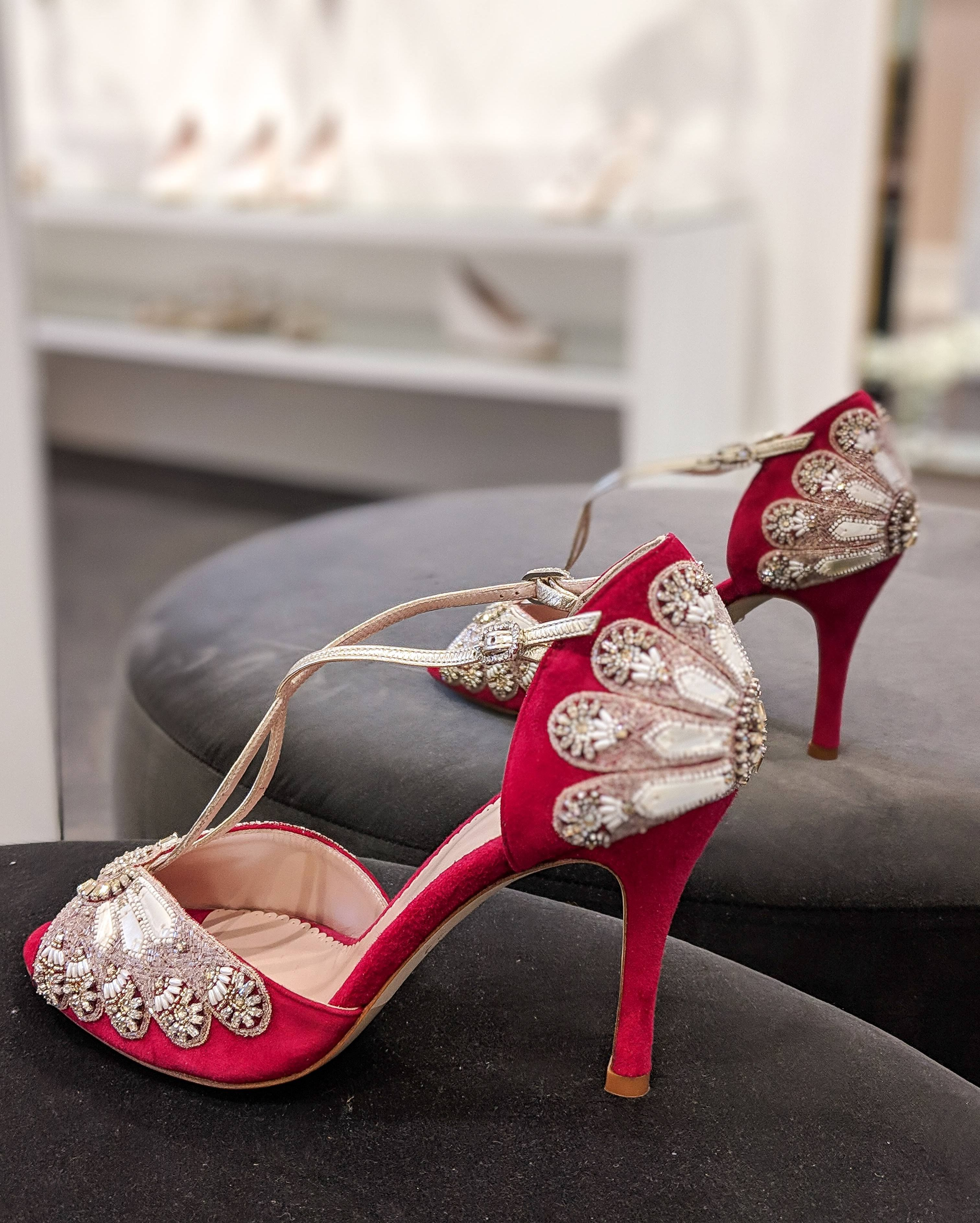 785bf31eb957 The beautiful Beatrice makes a statement under any gown. Perfect for any  Valentine s weddings coming up.