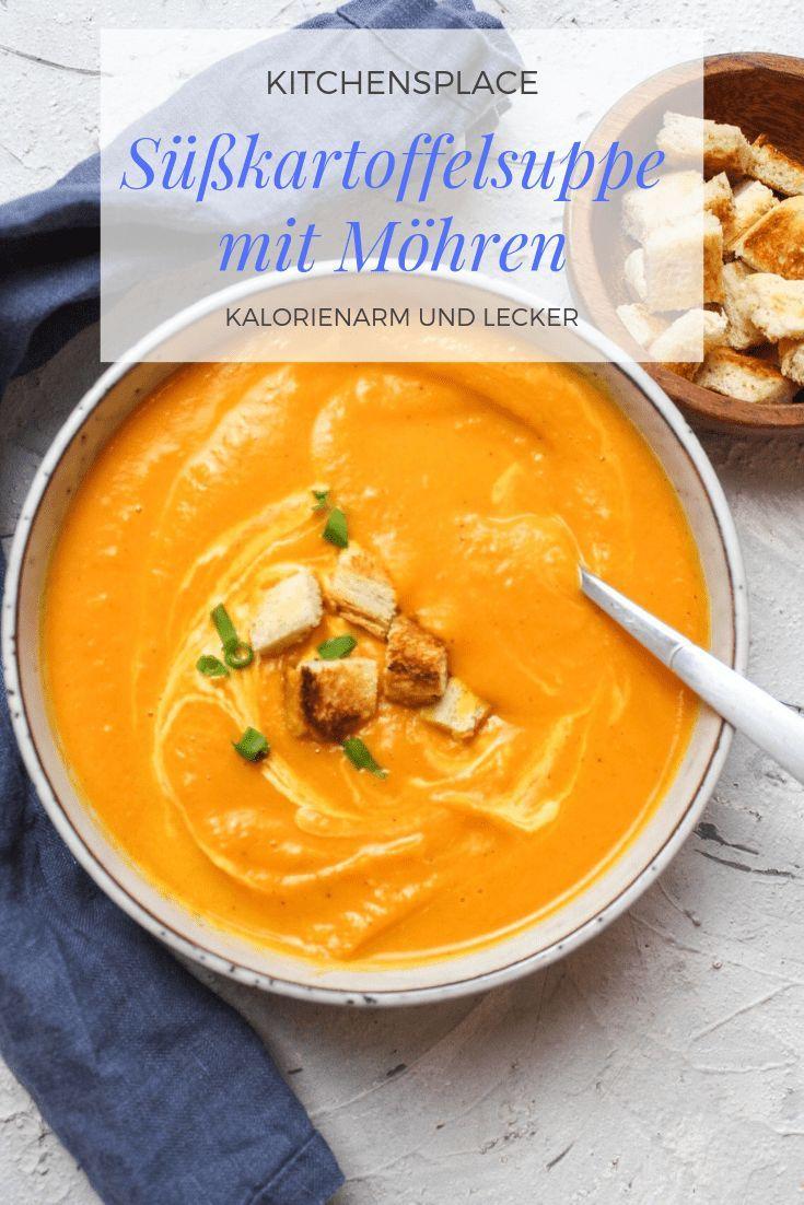 Süßkartoffelsuppe mit Möhren | kitchensplace