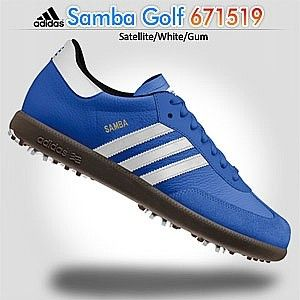 Samba 671519 Men S Satellite Red Gum Golf Shoes Http Enewmall Com Golf Shoes And Golf Footwear With Images Red Adidas Golf Shoes Shoes