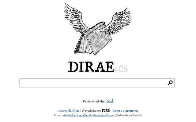 Dirae Es Un Diccionario Inverso Es Decir Que En Vez De