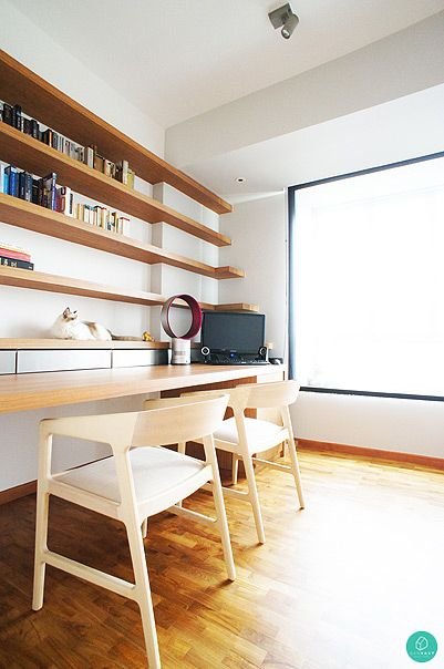 Hdb Study Room Design Ideas: 10 Stylish Minimalist Home Designs For Your HDB/Condo