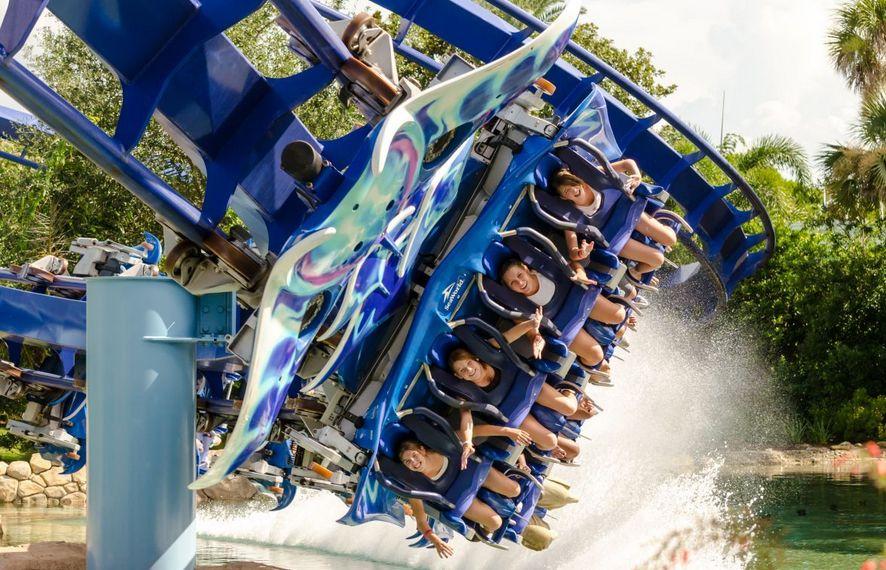 Manta SeaWorld Orlando, Florida Roller coaster