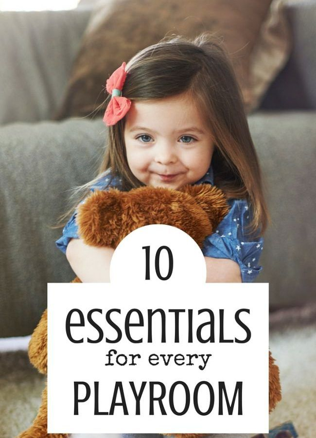 Best Toys 4 Toddlers - 10 essential elements of every playroom, either your child is a girl or a boy