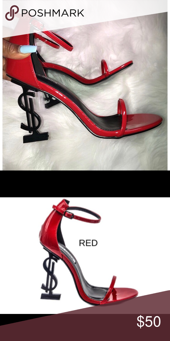 c0da502f36d NWT** Sexy Red Heels Sexy Red patent leather heel Witt black sole ...