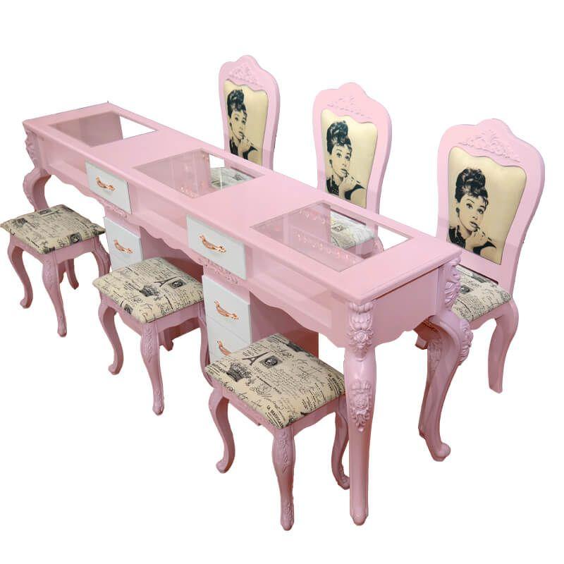 Manicure Table Nail Desk For Sale Station Salon Interior Design Decor