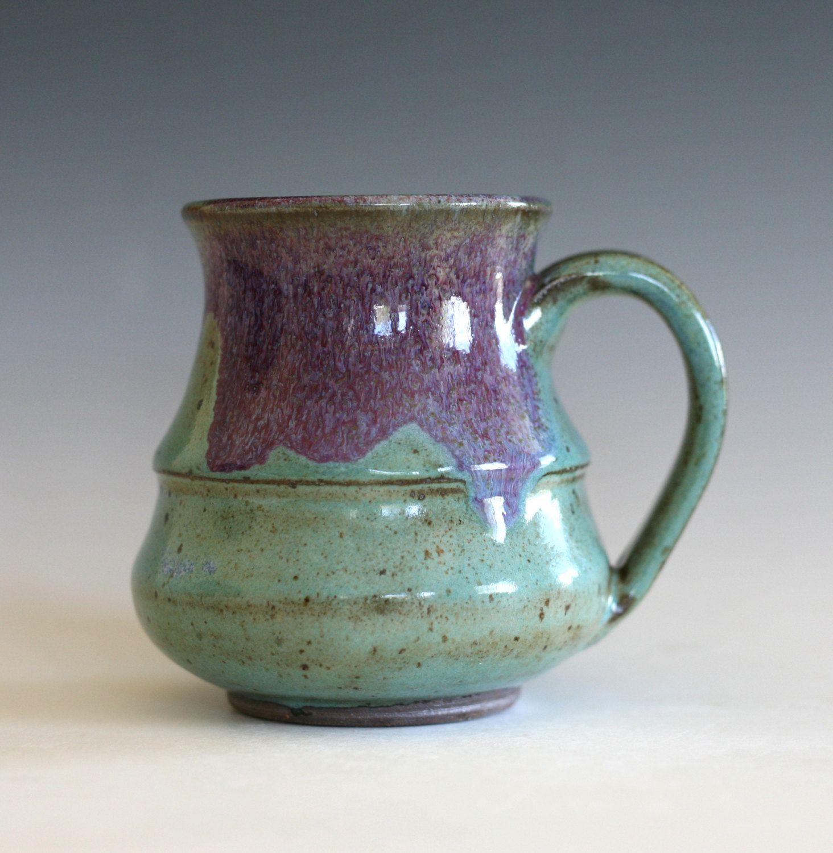 Coffee Mug, 16 oz, unique coffee mug, handmade ceramic cup