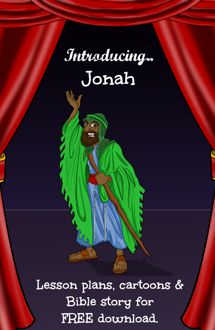 Free Bible Lesson Plan - Jonah and the Big Fish   Bible stories ...
