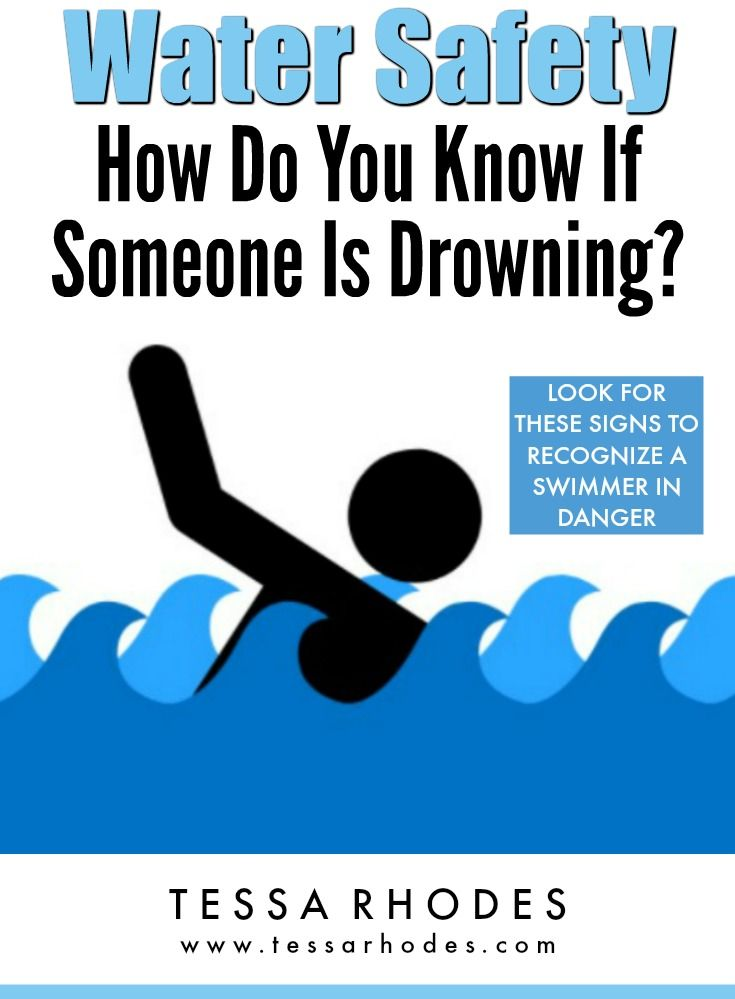 Drowning how do you know if someone is drowning water