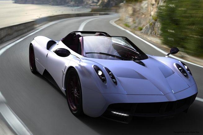 Pagani Huayra Roadster Concept By Aldo Maria Sica Pagani Huayra