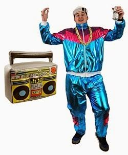 80s Hip Hop Costume with inflatable ghettoblaster  sc 1 st  Pinterest & 80s Hip Hop Costume with inflatable ghettoblaster | 80s Fancy Dress ...