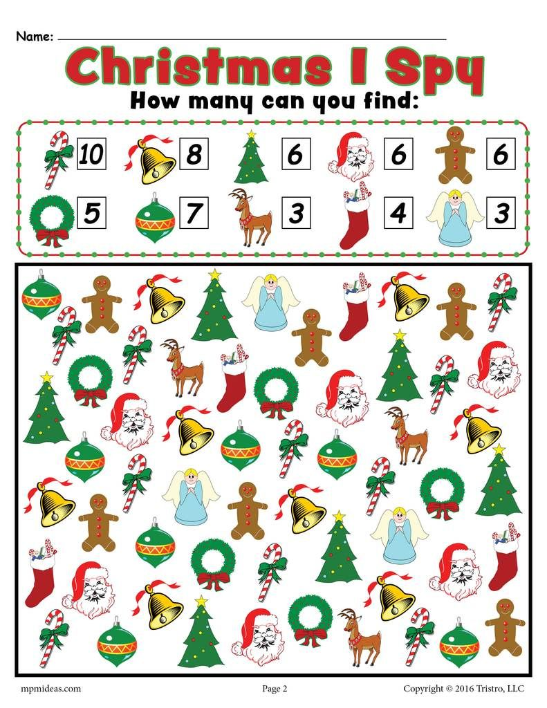 christmas i spy free printable christmas counting worksheet divya christmas worksheets. Black Bedroom Furniture Sets. Home Design Ideas
