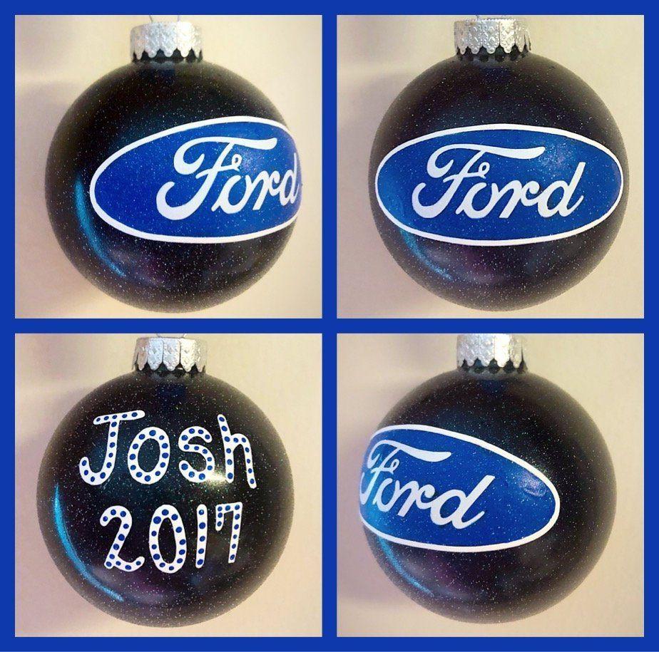 Ford Ornament Ford Gifs Ford Logo Ornaments Car Lover Ornament