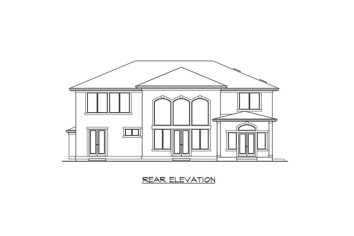 Plan 23749jd Exquisite Italianate House Plan House Plans Indoor Balcony House Floor Plans
