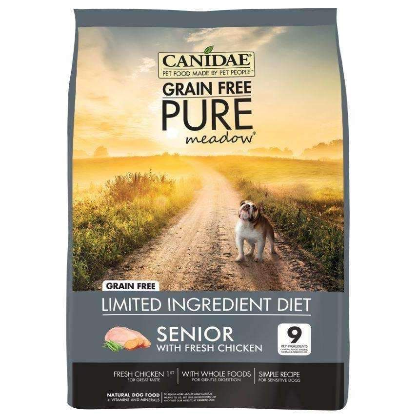 Canidae Grain Free PURE Meadow with Fresh Chicken Senior