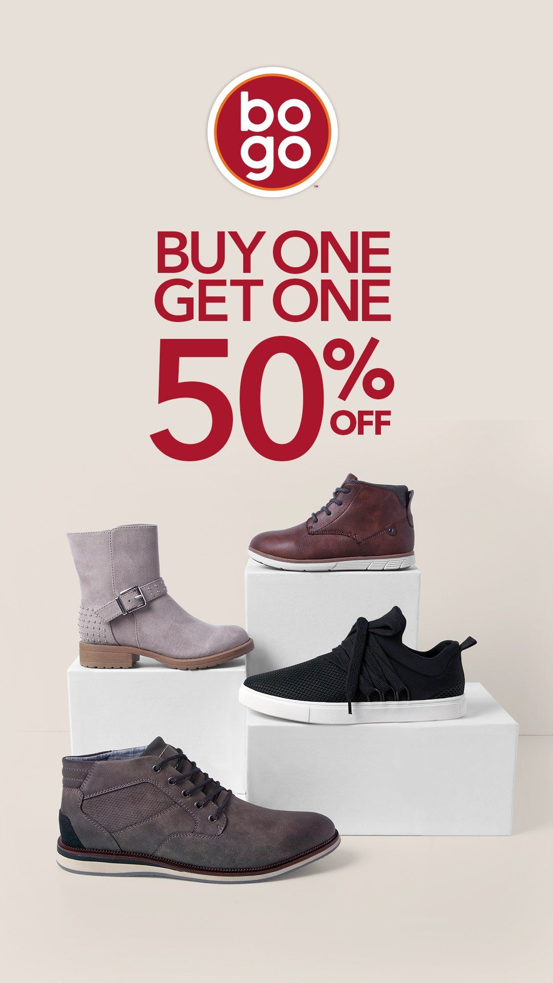 79fbcdf0cdd Boots for the whole family. BOGO 50% off. Affordable fashion ...