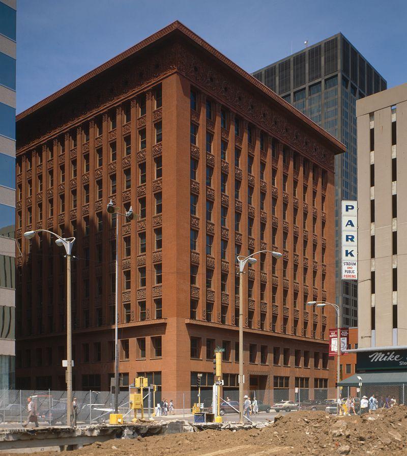 Louis Sullivan Building Home Insurance Building Architecture