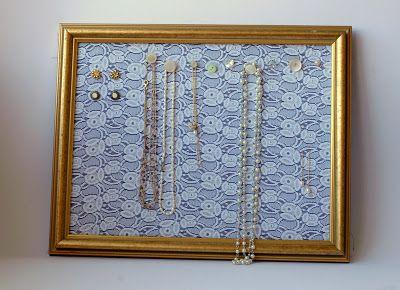 sew la vie: speedy fabric picture frames
