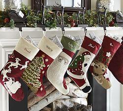 Christmas Stockings Pottery Barn.Christmas Stockings Personalized Christmas Stockings