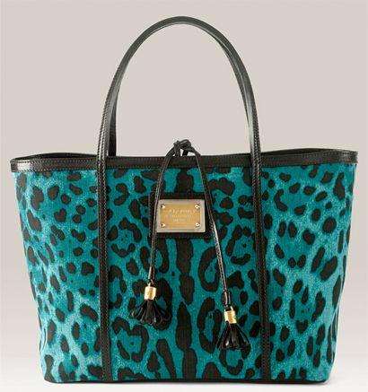 Dolce   Gabbana Miss Escape Leopard Print Tote  8340ef3f18245