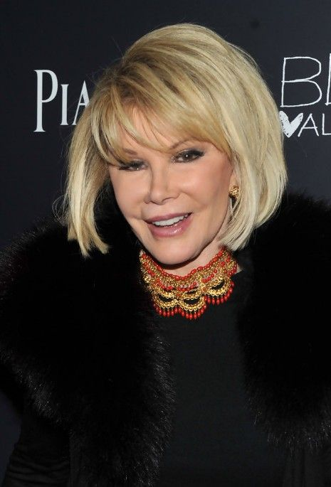 Short Blonde Bob Haircut For Older Women Over 70 Joan Rivers Bob Hairstyles Pretty Designs Blonde Bob Haircut Older Women Hairstyles Bob Hairstyles