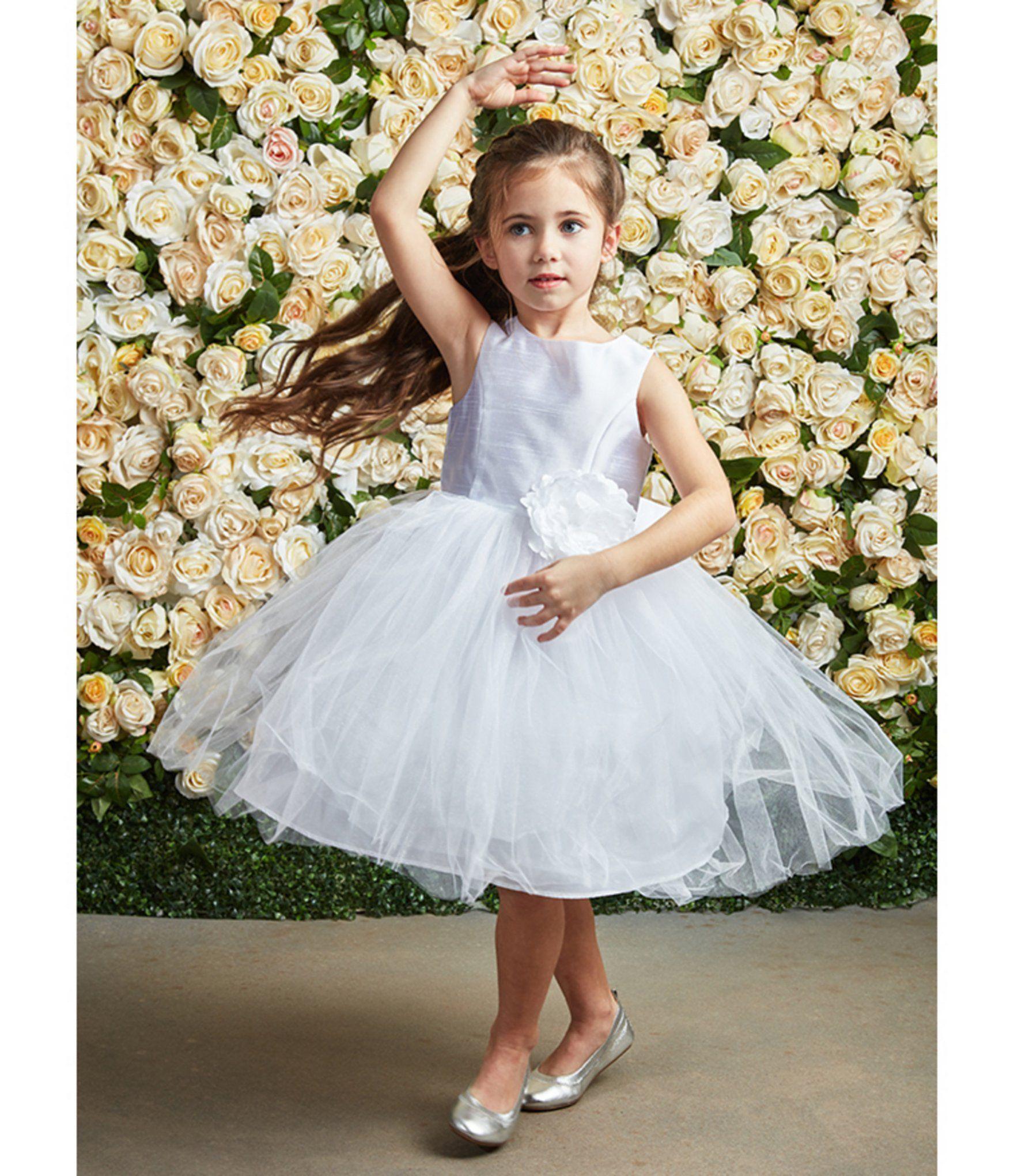 Pippa Julie Little Girls 2t 6x Flower Appliqued Ballerina Dress Dillard S In 2021 White Flower Girl Dresses Flower Girl Dresses Short Flower Girl Dresses Tulle [ 2040 x 1760 Pixel ]