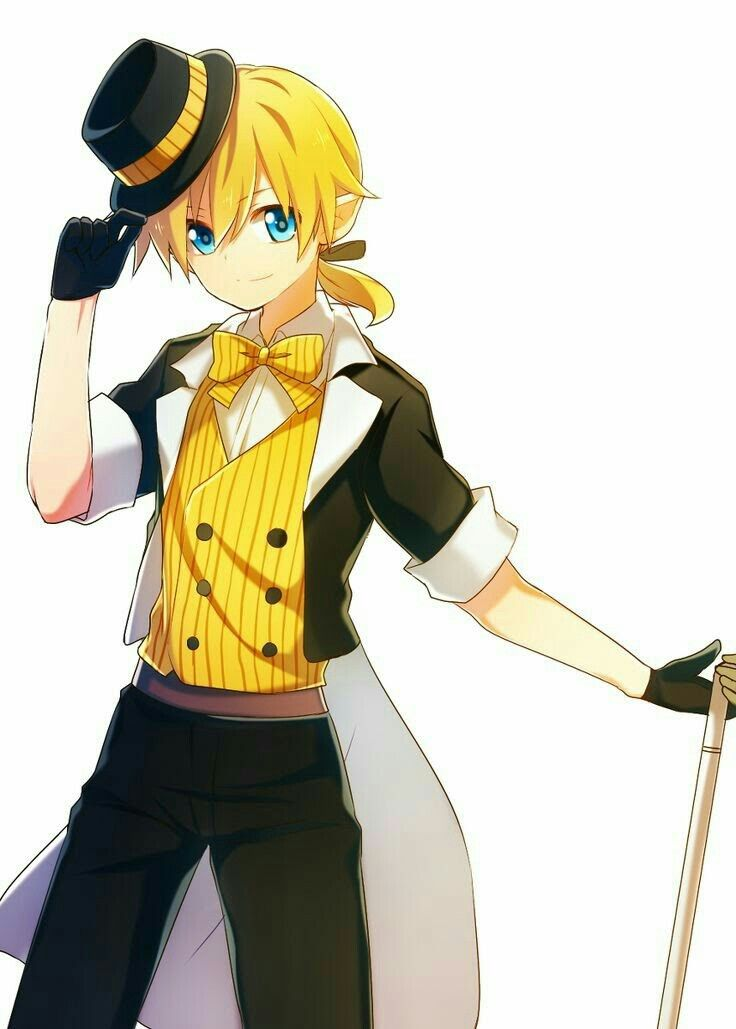 Len Kagamine Dream Eating Monochrome Vocaloid Vocaloid