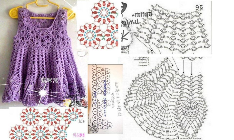Pin by Graciela Elena Cenacchi on vestidos crochet | Pinterest ...