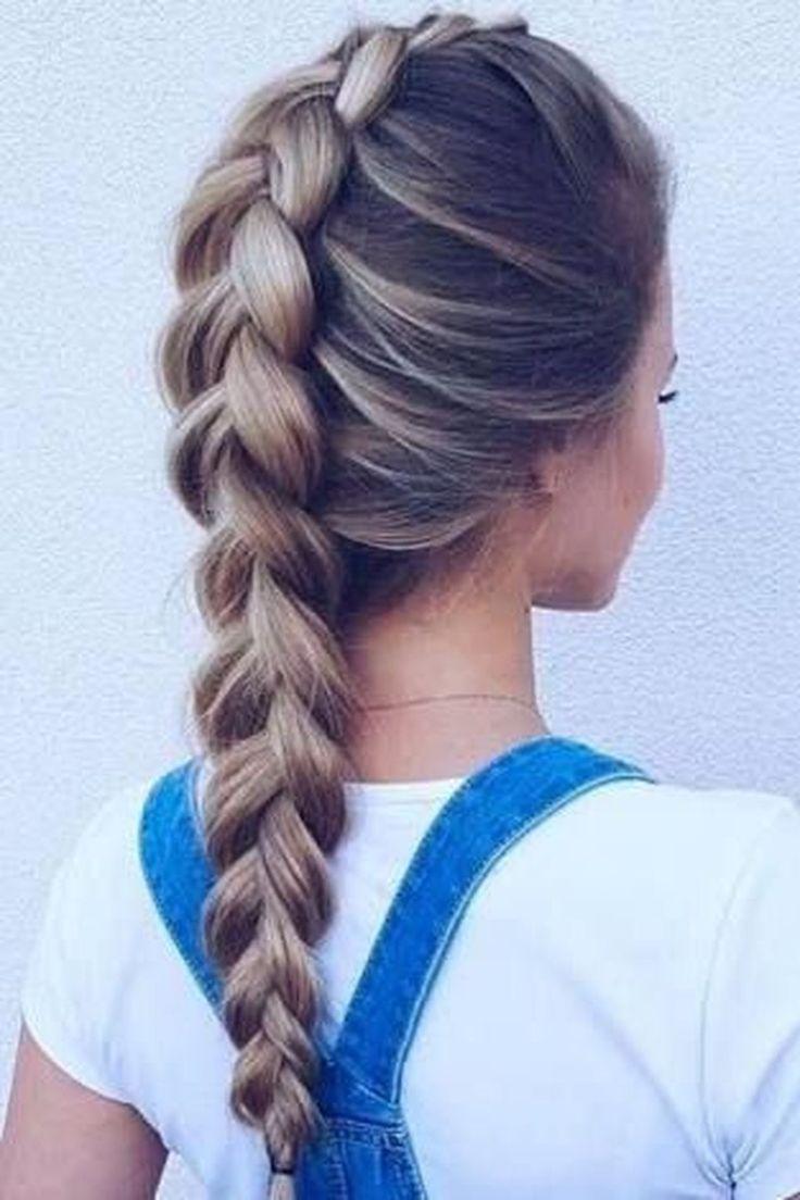 Coole 11 wunderbare Alltags-Frisur-Ideen für Mädchen. Mehr unter