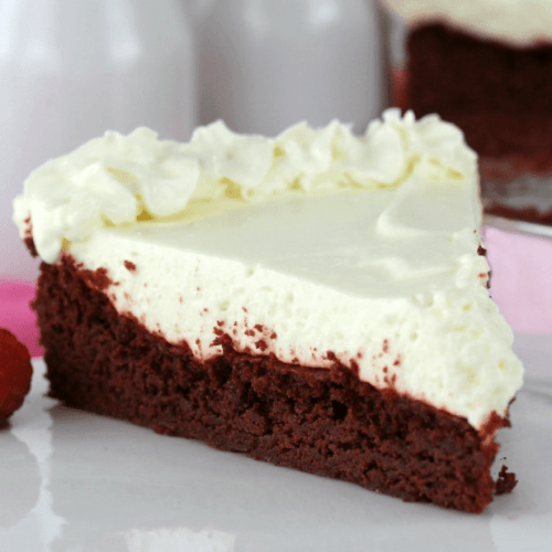 Easy Red Velvet Cheesecake - Spend With Pennies #redvelvetcheesecake Easy Red Velvet Cheesecake - Spend With Pennies #redvelvetcheesecake