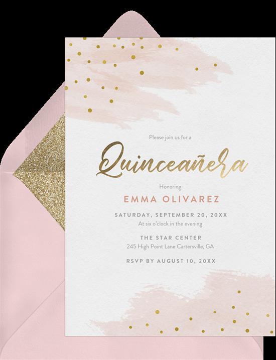 Feliz Cumpleaños! 15 Quinceañera Invitations to Celebrate
