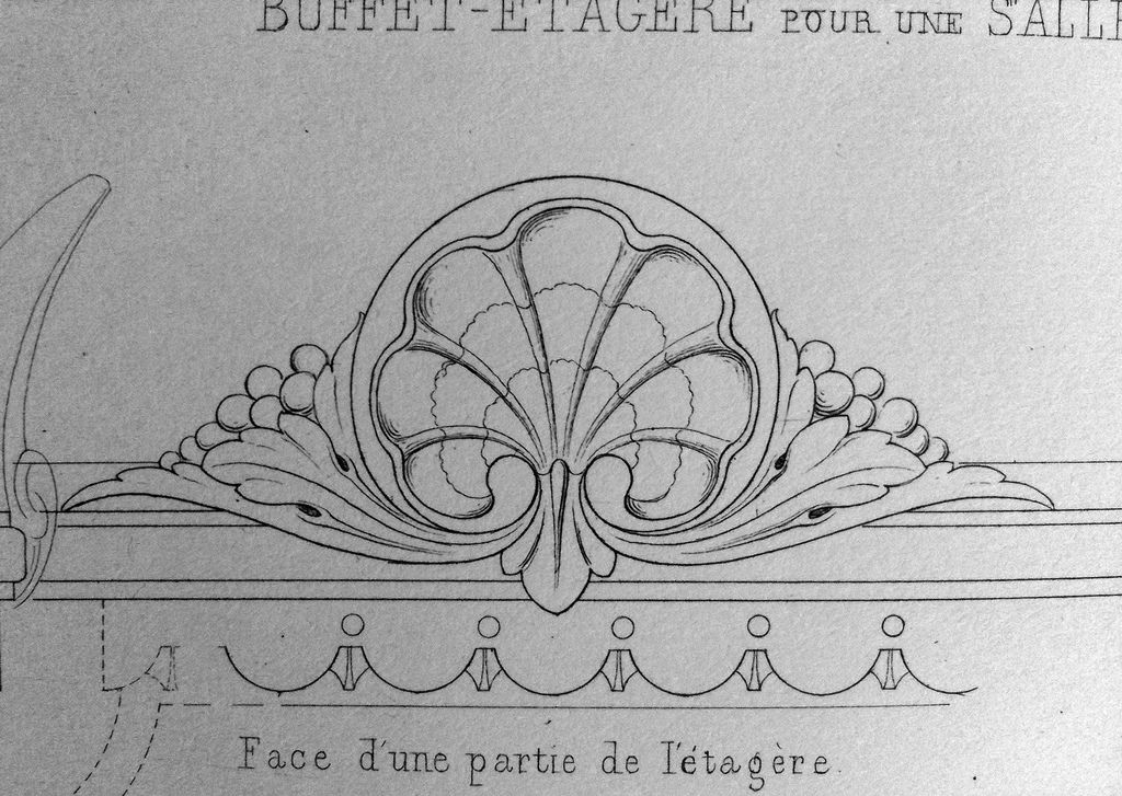 Ornament Drawings Grotesques in design Орнаменты