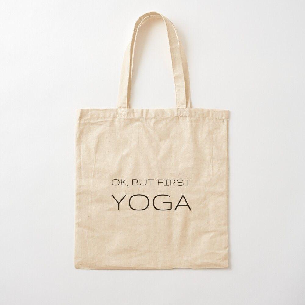 Yoga inspirational tote Set